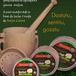 Cartel tienda venta de queso Belai Idiazabal