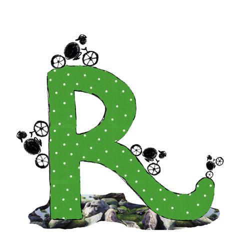 R de rueda